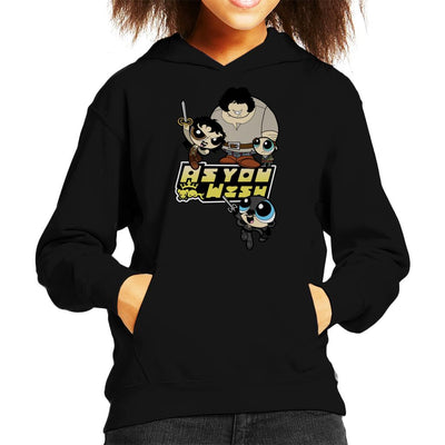 As You Wish The Princess Bride Kid's Hooded Sweatshirt by TopNotchy - Cloud City 7