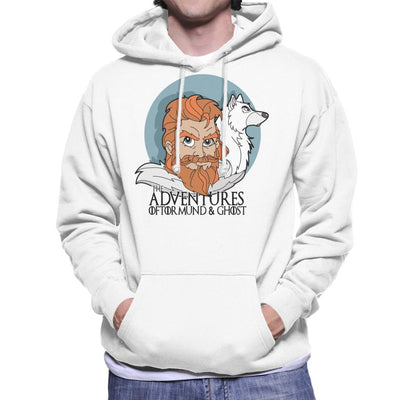 Game Of Thrones The Adventures Of Tormund And Ghost Men's Hooded Sweatshirt by TopNotchy - Cloud City 7