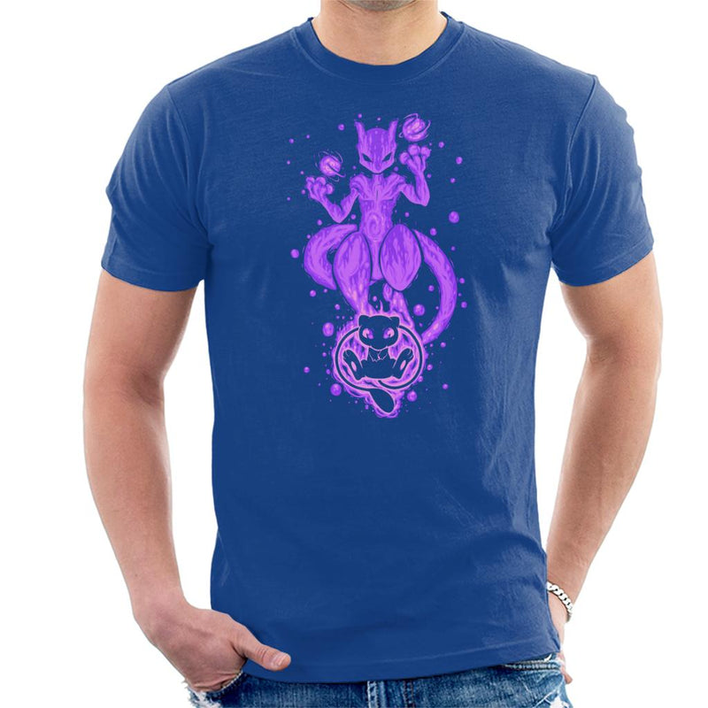 The DNA Within Mew Mewtwo Men's T-Shirt by TechraNova - Cloud City 7
