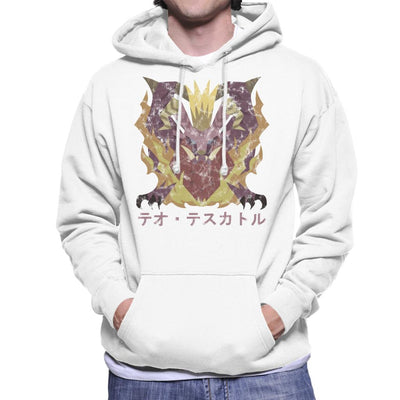Monster Hunter World Teostra Kanji Icon Men's Hooded Sweatshirt by BrotherOfPerl - Cloud City 7