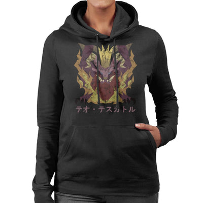 Monster Hunter World Teostra Kanji Icon Women's Hooded Sweatshirt by BrotherOfPerl - Cloud City 7