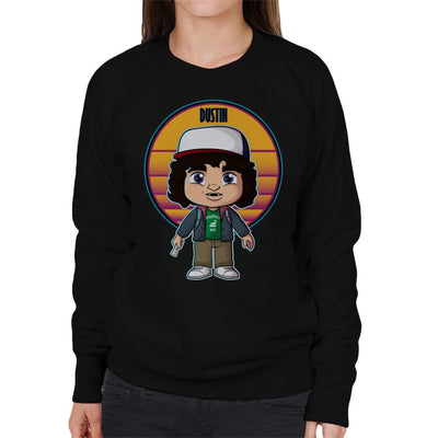 Stranger Things Cute Dustin Women's Sweatshirt by douglasstencil - Cloud City 7
