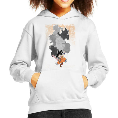 Goku Evolutions Dragon Ball Z Kid's Hooded Sweatshirt by douglasstencil - Cloud City 7