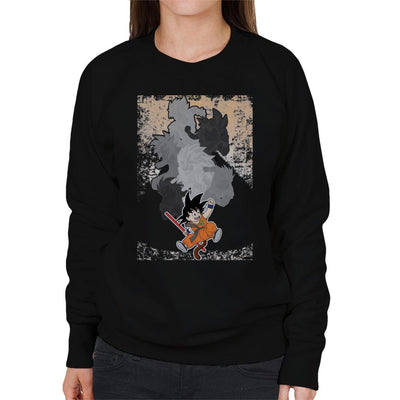 Goku Evolutions Dragon Ball Z Women's Sweatshirt by douglasstencil - Cloud City 7