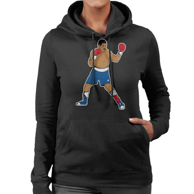 Maguila Adilson Rodrigues Women's Hooded Sweatshirt by douglasstencil - Cloud City 7
