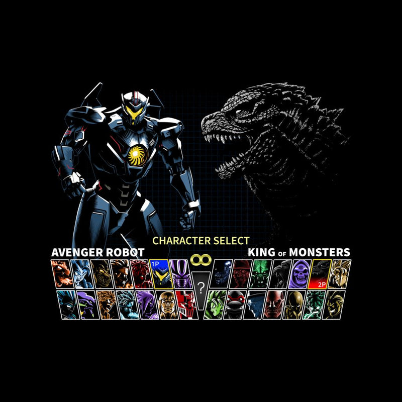 Game Menu Gipsy Avenger Vs Godzilla by Albertocubatas - Cloud City 7