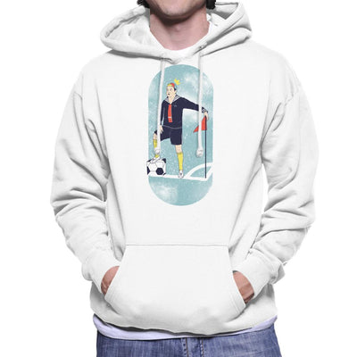 King Of The Square Ball Men's Hooded Sweatshirt by Douglasstencil - Cloud City 7