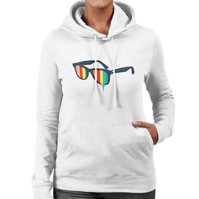 Glasses For Pessimists Women's Hooded Sweatshirt by Douglasstencil - Cloud City 7