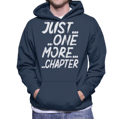 Just One More Chapter Men's Hooded Sweatshirt by happeace - Cloud City 7