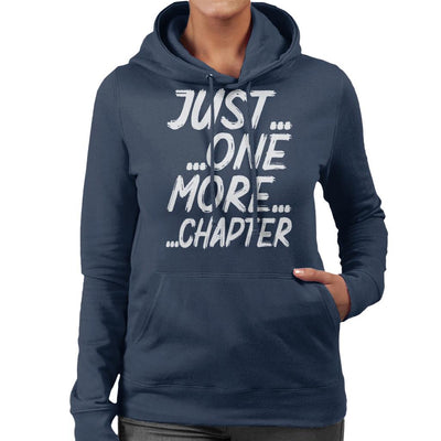 Just One More Chapter Women's Hooded Sweatshirt by happeace - Cloud City 7