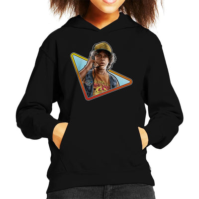Stranger Things S3 Dustin Kid's Hooded Sweatshirt by Sam Green - Cloud City 7