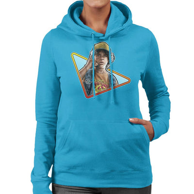 Stranger Things S3 Dustin Women's Hooded Sweatshirt by Sam Green - Cloud City 7
