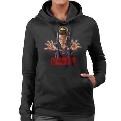 Stranger Things S3 Eleven Women's Hooded Sweatshirt by Sam Green - Cloud City 7