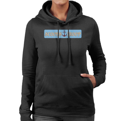 Stranger Things S3 Scoops Troop Logo Women's Hooded Sweatshirt by Sam Green - Cloud City 7