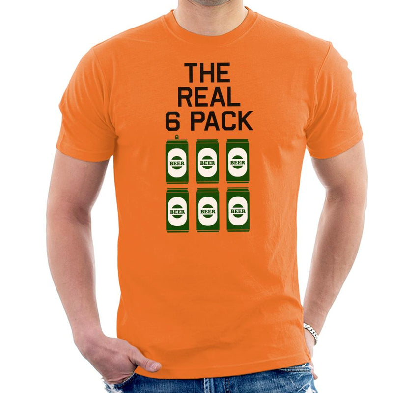 The Real Six Pack Men's T-Shirt by SimpliciTEES - Cloud City 7