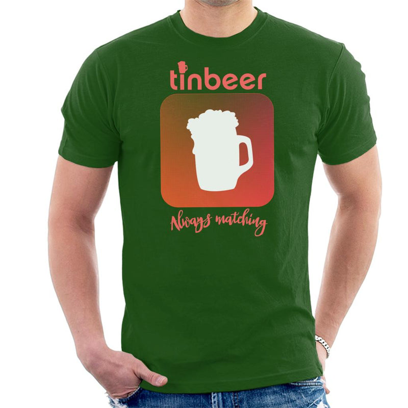 Tinbeer Always Matching Men's T-Shirt by SimpliciTEES - Cloud City 7