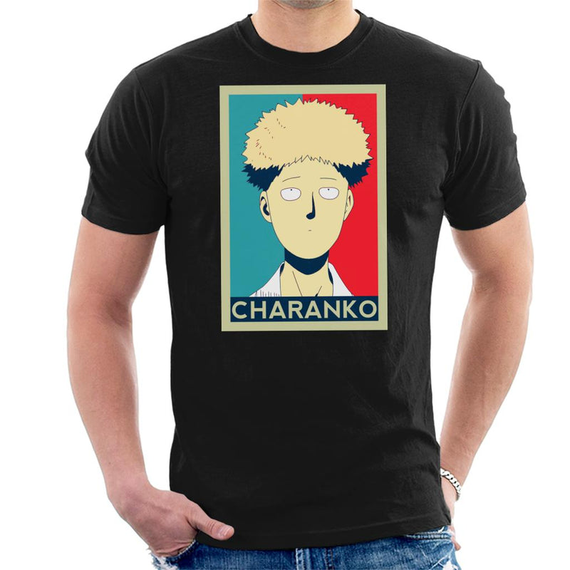 One Punch Man Charanko Hope Poster Men's T-Shirt by SimpliciTEES - Cloud City 7