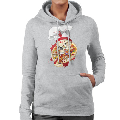 Halloween Pizza Delivery Women's Hooded Sweatshirt by crbndesign - Cloud City 7