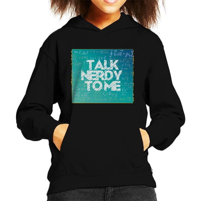 Talk Nerdy To Me Kid's Hooded Sweatshirt by crbndesign - Cloud City 7