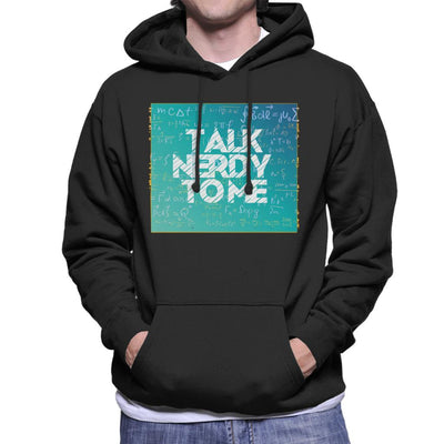 Talk Nerdy To Me Men's Hooded Sweatshirt by crbndesign - Cloud City 7