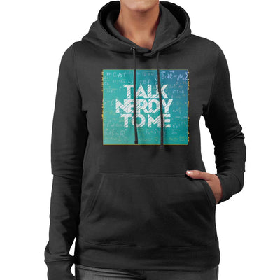 Talk Nerdy To Me Women's Hooded Sweatshirt by crbndesign - Cloud City 7