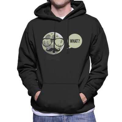 Man In The Moon Men's Hooded Sweatshirt by crbndesign - Cloud City 7