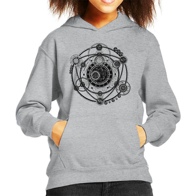 Witchcraft Scheme Kid's Hooded Sweatshirt by crbndesign - Cloud City 7