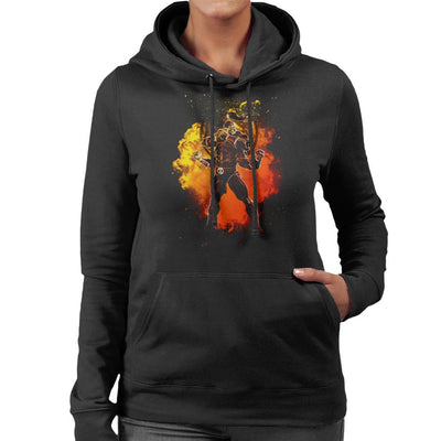 Goro Soul Mortal Kombat Women's Hooded Sweatshirt by Donnie - Cloud City 7