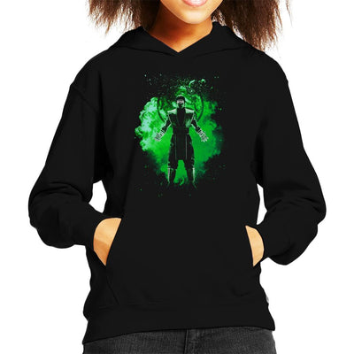 Reptile Soul Mortal Kombat Kid's Hooded Sweatshirt by Donnie - Cloud City 7