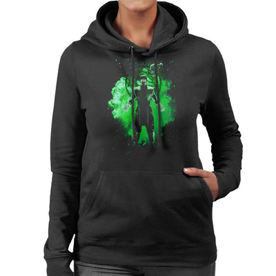 Reptile Soul Mortal Kombat Women's Hooded Sweatshirt by Donnie - Cloud City 7
