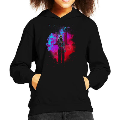 Soul Of Telekinesis Power Eleven Stranger Things Kid's Hooded Sweatshirt by Donnie - Cloud City 7