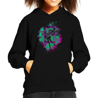 Pluto Soul Sailor Moon Kid's Hooded Sweatshirt by Donnie - Cloud City 7