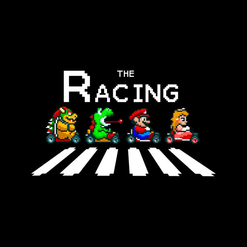 The Racing Super Mario Kart Abbey Road by Douglasstencil - Cloud City 7