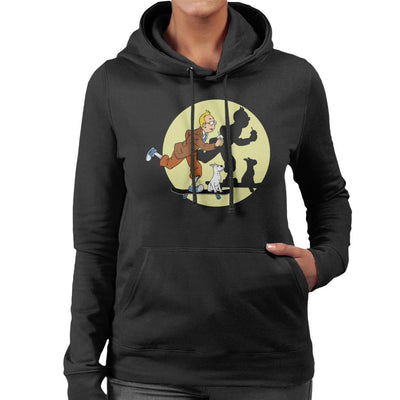 Tim Tim Skater Tin Tin Women's Hooded Sweatshirt by Douglasstencil - Cloud City 7