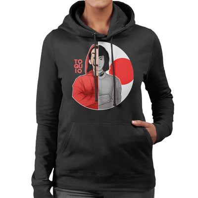 Toquio La Casa De Papel Women's Hooded Sweatshirt by Douglasstencil - Cloud City 7
