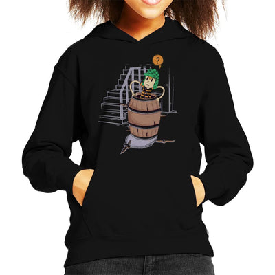 Up Boy Kid's Hooded Sweatshirt by Douglasstencil - Cloud City 7