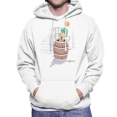 Up Boy Men's Hooded Sweatshirt by Douglasstencil - Cloud City 7