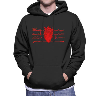 What The Eye Doesnt See The Heart Doesnt Grieve Over Men's Hooded Sweatshirt by SimpliciTEES - Cloud City 7