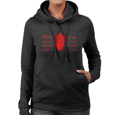 What The Eye Doesnt See The Heart Doesnt Grieve Over Women's Hooded Sweatshirt by SimpliciTEES - Cloud City 7