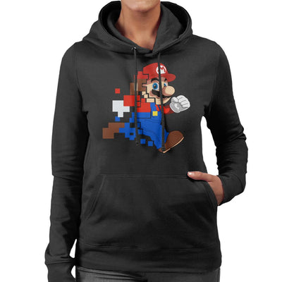 Mario Evolution Solo Women's Hooded Sweatshirt by SimpliciTEES - Cloud City 7