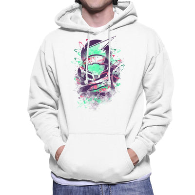 Water Colour Bounty Hunter Metroid Men's Hooded Sweatshirt by Donnie - Cloud City 7