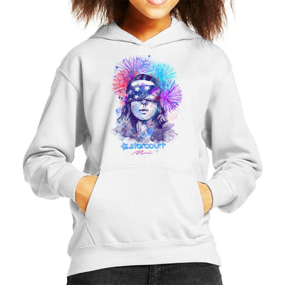 Water Colour Upside Down Stranger Things Kid's Hooded Sweatshirt by Donnie - Cloud City 7