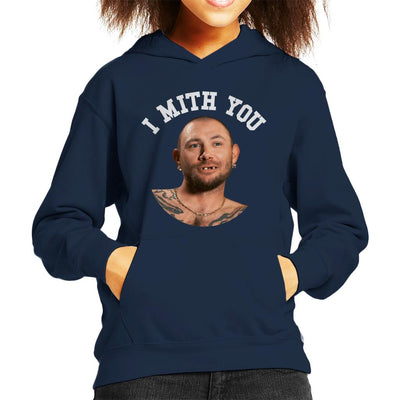 John Finlay I Mith You Joe Exotic Tiger King Kid's Hooded Sweatshirt by Pheasant Omelette - Cloud City 7