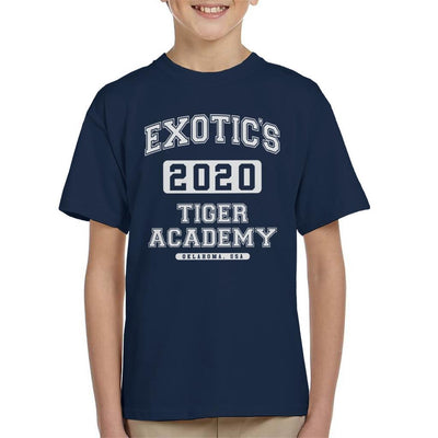 Joe Exotic 2020 Tiger King Academy Kid's T-Shirt by Pheasant Omelette - Cloud City 7