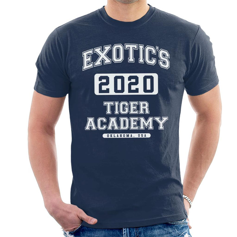 Joe Exotic 2020 Tiger King Academy Men's T-Shirt by Pheasant Omelette - Cloud City 7