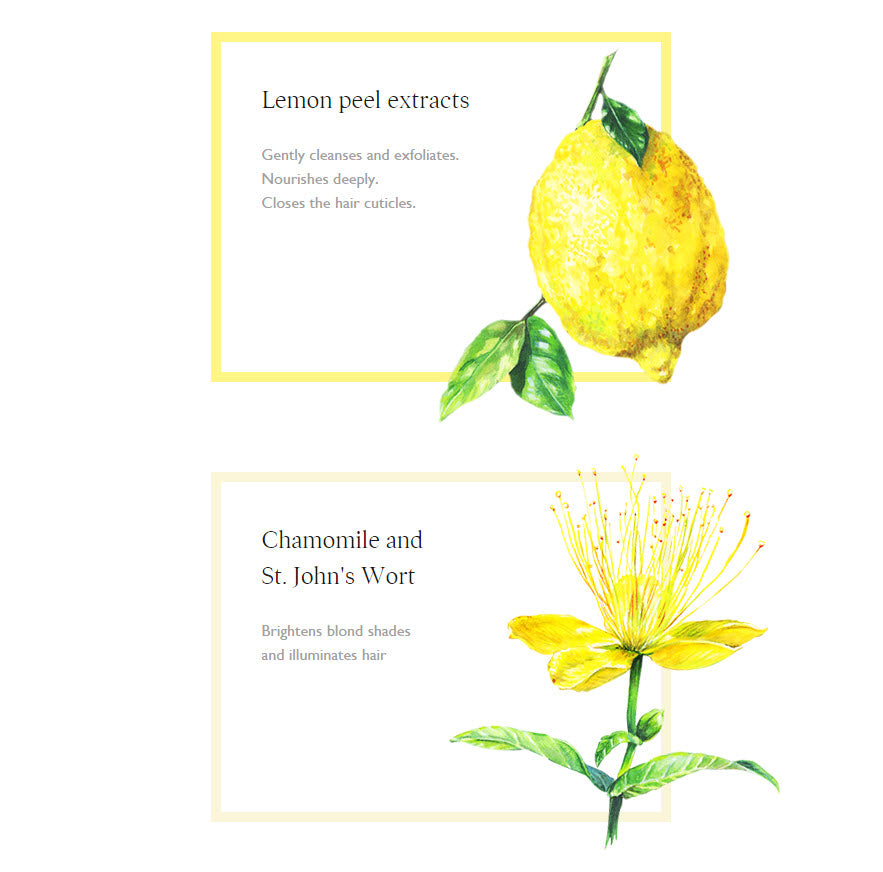 Lemon Peel extracts and Chamomile