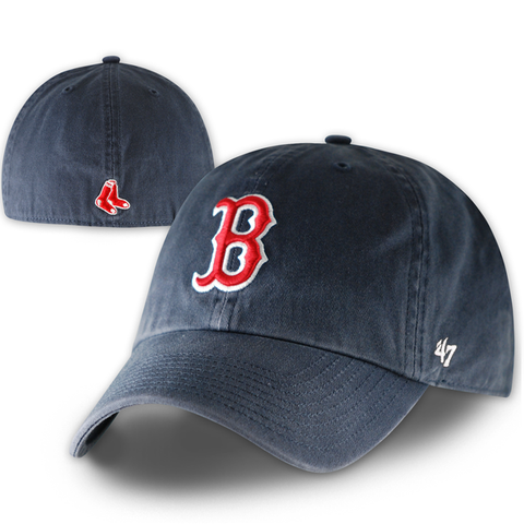 Boston Red Sox Vintage Navy Franchise Fitted Hat
