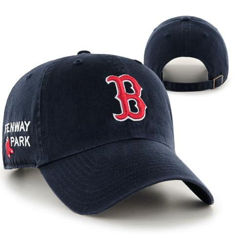 Boston Red Sox Fenway Park Side Clean Up Adjustable Hat