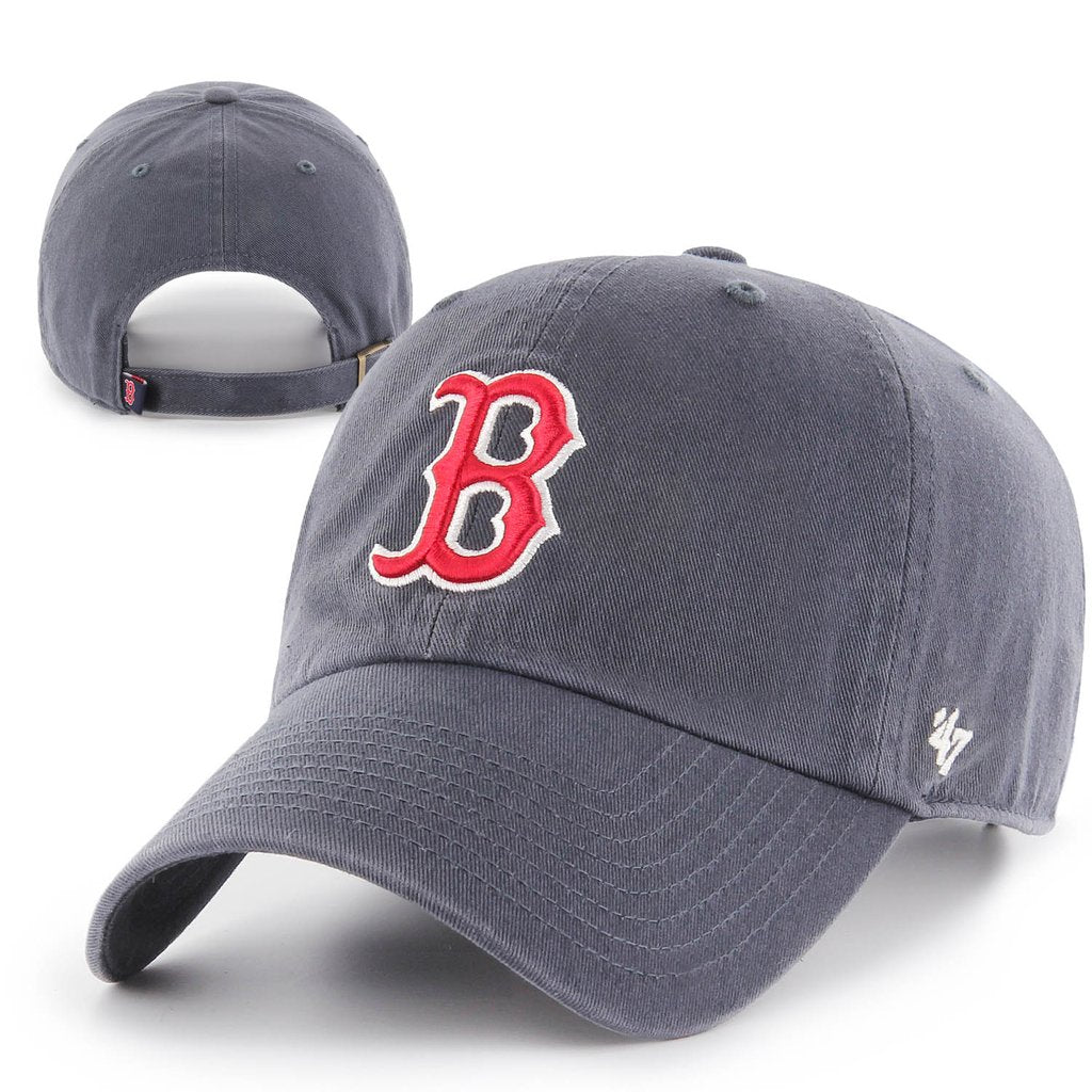 82c7e4ca Boston Red Sox Vintage Navy Clean Up Adjustable Hat – 19JerseyStreet