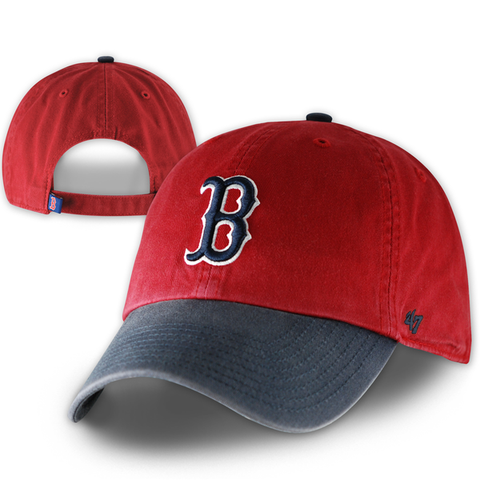 Boston Red Sox Clean-Up Red/Navy Adjustable Hat